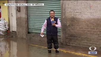 Cuautitlán Izcalli Inundado Colonias Trabajos De Desazolve