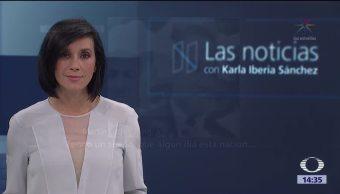 Las noticias, con Karla Iberia: Programa del 5 de septiembre 2017