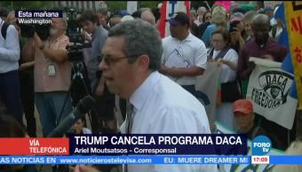 Trump Podría Promover Plan Arropar Dreamers Ariel Moutsatsos, corresponsal en Washington
