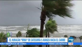 Huracán Irma Amenaza Caribe Categoría 5