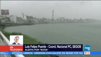 Katia Huracán Estable Luis Felipe Puente