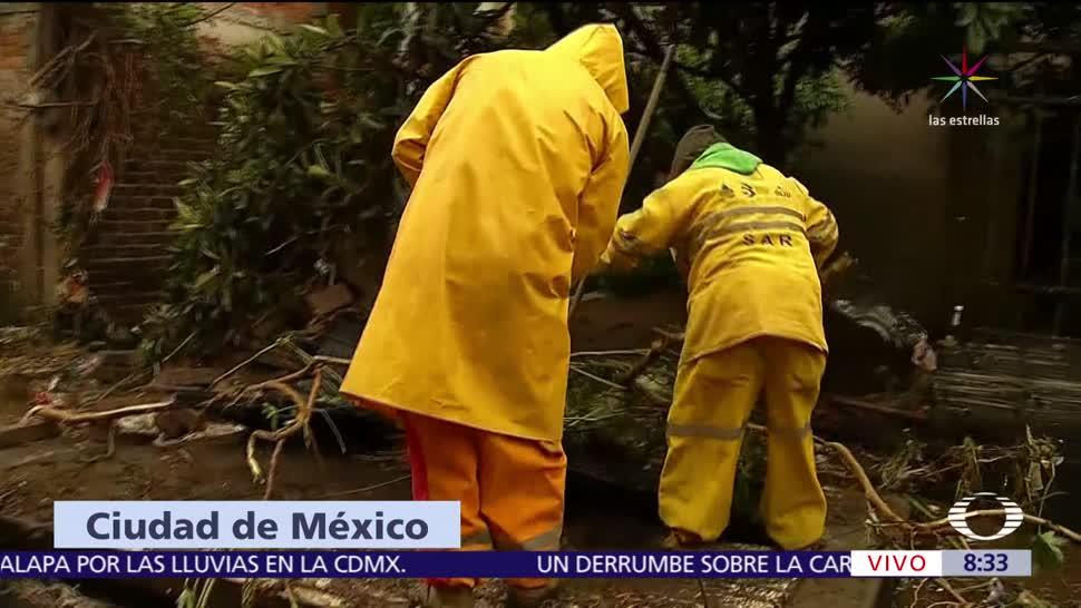 inundación, San, Bartolo, Xochimilco