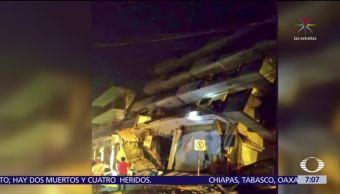 Palacio municipal de Juchitán, Oaxaca reporta daños