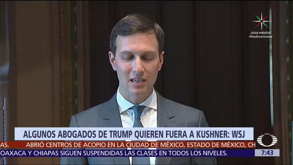 Abogados, Trump, Jared Kushner, renunciar