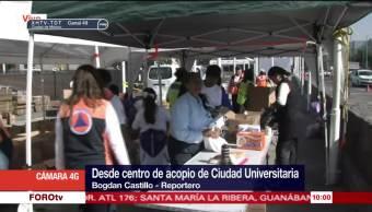 Centro Acopio Ciudad Universitaria Víveres