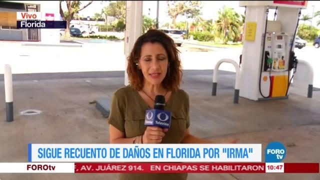 Sigue, recuento, daños, Florida