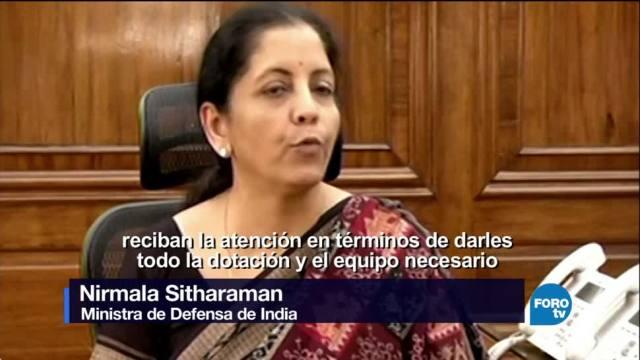 Nirmala Sitharama, nueva ministra de Defensa de la India