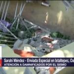Autoridades federales y estatales realizan censo de daños en Oaxaca