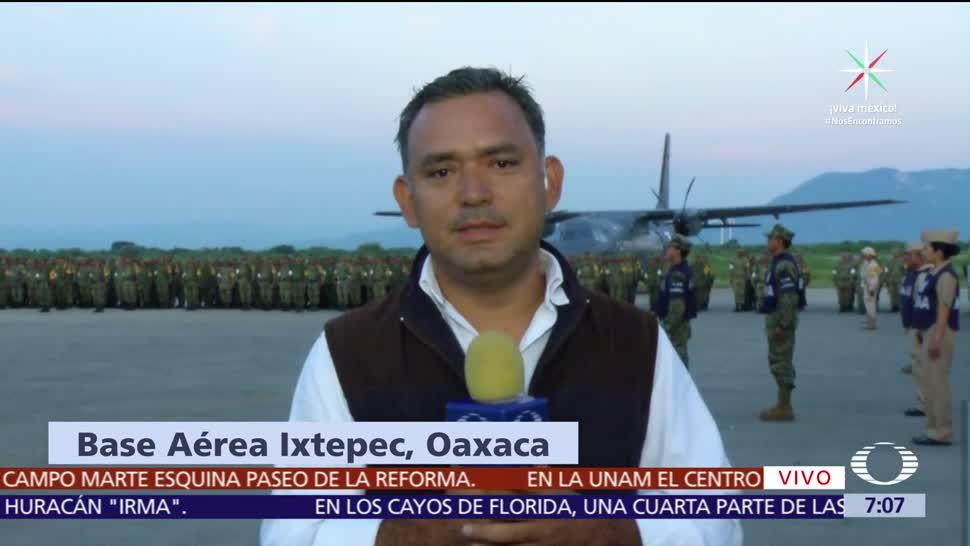 Llega, Oaxaca, ayuda, humanitaria