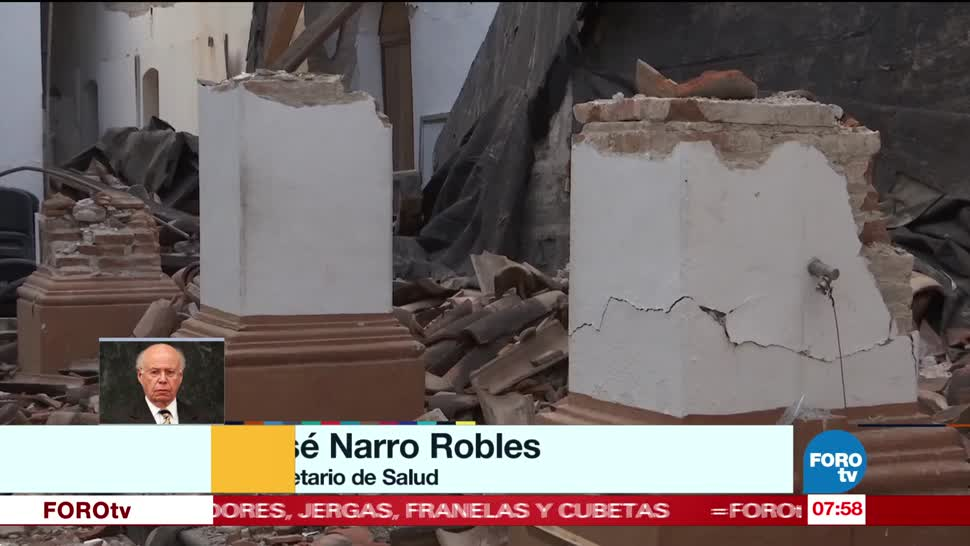 Daños, hospitales, sismo, Oaxaca