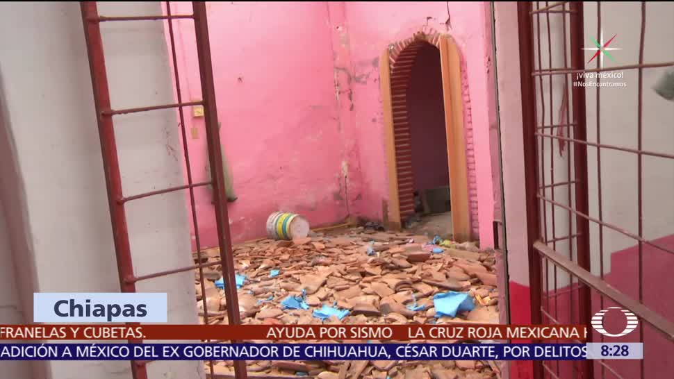 Cerca, escuelas, Chiapas, afectadas