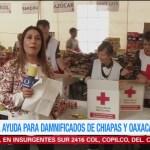 Mexicanos se solidarizan con damnificados por sismo