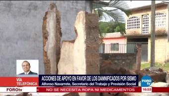 En Chiapas fluye la ayuda a los damnificados