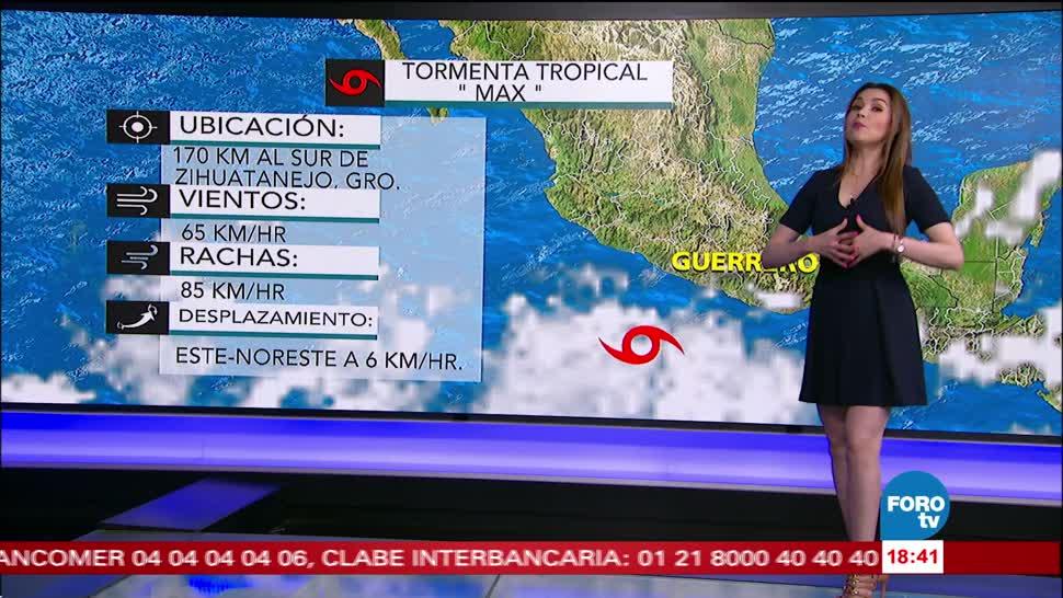 El clima para jueves con Mayte Carranco