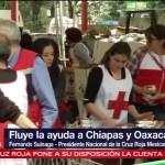 Cruz Roja pide confianza a la sociedad mexicana
