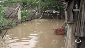 'Max' ya provoca inundaciones en Guerrero