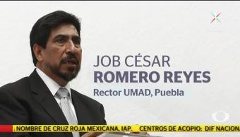 Perla Negra Rector de universidad en Puebla