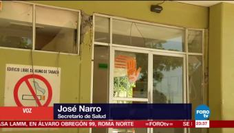 SSa no tiene registro de brotes epidemiológicos en Oaxaca, tras sismo