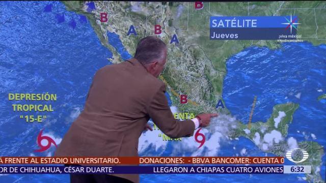 Tormenta 'Max' genera lluvias en el Pacífico mexicano