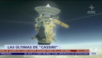 Sonda Cassini termina misión de 13 años en Saturno, este viernes