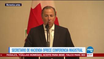 Meade destaca la relación entre México y Canadá