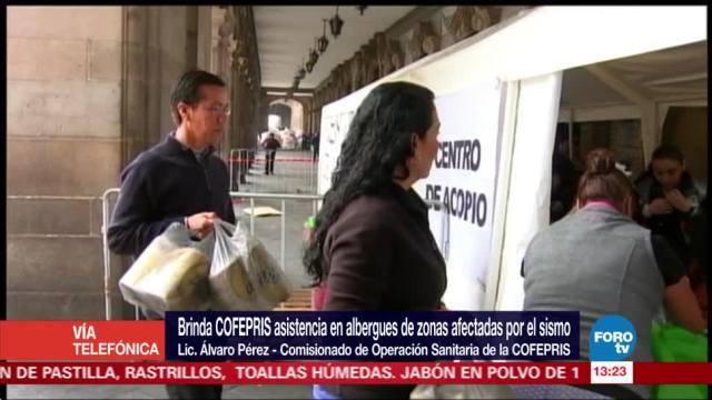 Revisa Cofepris 2.5 millones de litros de agua en Oaxaca y Chiapas
