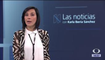 Las noticias con Karla Iberia Programa del 14 de septiembre de 2017