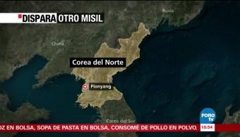 Japón condena lanzamiento de un misil norcoreano