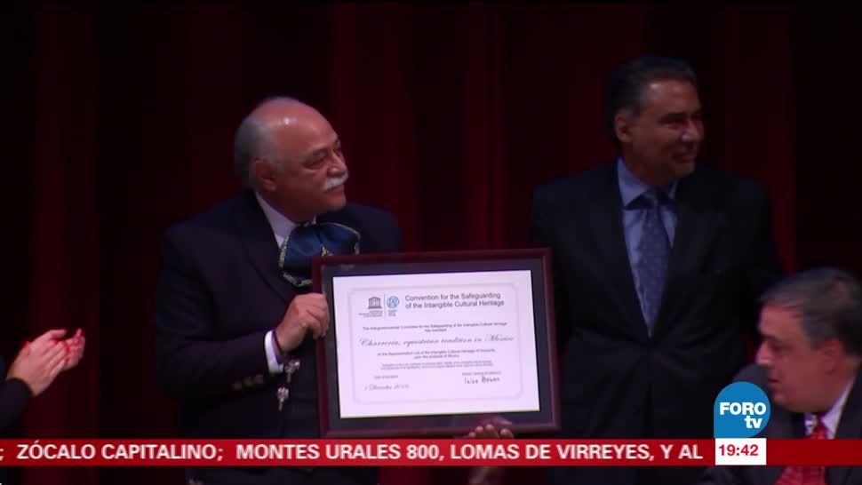 Charrería certificada inscripción ante la Unesco