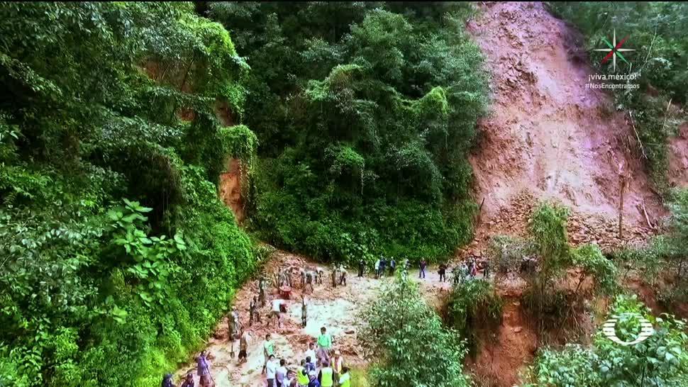Alud cobra dos vidas en Chiapas deslizamiento de tierre