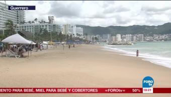 Zona turística de Acapulco, sin daños tras Max