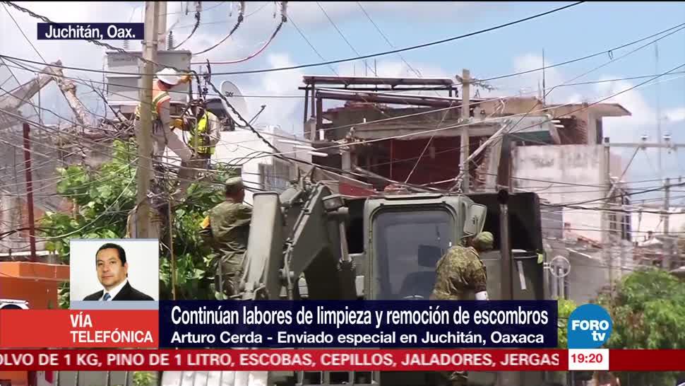 No habrá festejos de Independencia tras el sismo en Juchitán Oaxaca