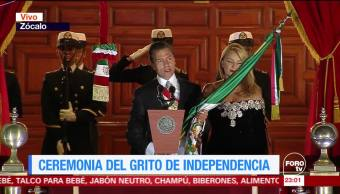Ceremonia del Grito de Independencia 2017