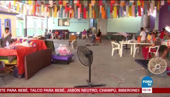 60 familias de Tehuantepec, Oaxaca permanecen en albergues tras sismo