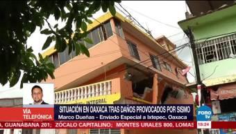 Microempresarios buscan apoyos para recuperar sus negocios en Ixtepec Oaxaca