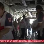 Cruz Roja Mexicana manda 378 toneladas de ayuda a Chiapas y Oaxaca