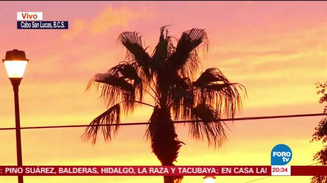 Tormenta tropical 'Norma' se localiza a 335 km de Baja California Sur