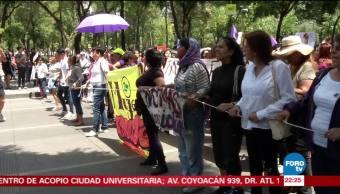 Activistas y ciudadanos exigen justicia por el feminicidio de Mara Fernanda