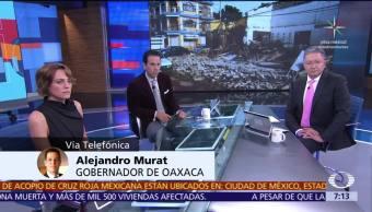 Oaxaca se recupera del sismo, Alejandro Murat habla en Despierta