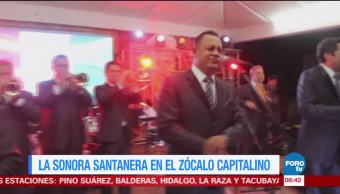 #LoEspectaculardeME: La Sonora Santanera en el Zócalo capitalino
