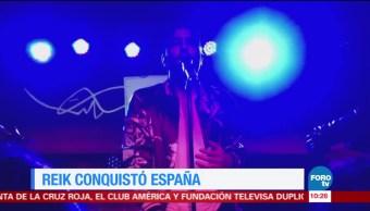 #LoEspectaculardeME: Grupo Reik conquista España con concierto