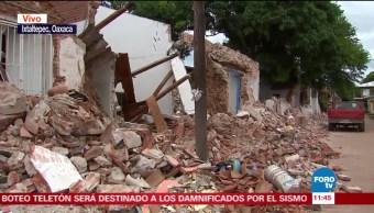 A 11 días del sismo en Oaxaca