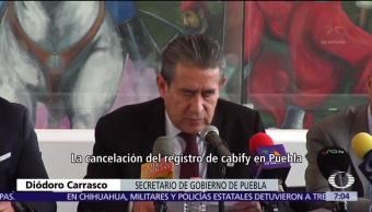 Cabify no podrá operar en Puebla tras feminicidio de Mara Castilla