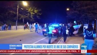 Muerte de joven a manos de policía genera protestas en Atlanta