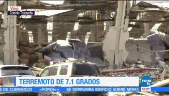 Tienda Autoservicio Colapsa Cdmx Sismo Ciudad De México