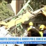 Autoridades federales trabajan en labores de rescate en la Roma