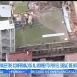 Difunden lista de personas rescatadas en edificio de Álvaro Obregón