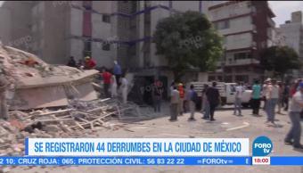 Sismo Afecta Martes Cdmx Epicentro En Puebla 29 Edificios Colapsados