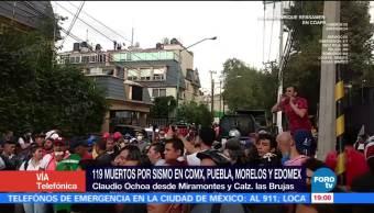 Confirman Cinco Personas Fallecidas Kínder Colapsado Cdmx
