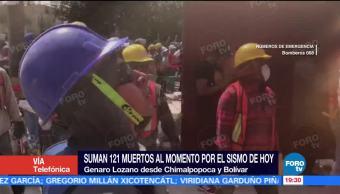 Vecinos Unen Labores Rescate Colonia Doctores Sismo